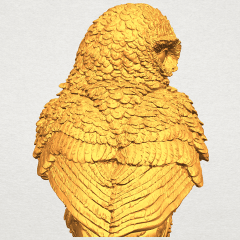 A09.png Download free STL file Owl 04 • 3D printable object, GeorgesNikkei