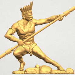 Download free 3D printer files Red Indian 02, GeorgesNikkei