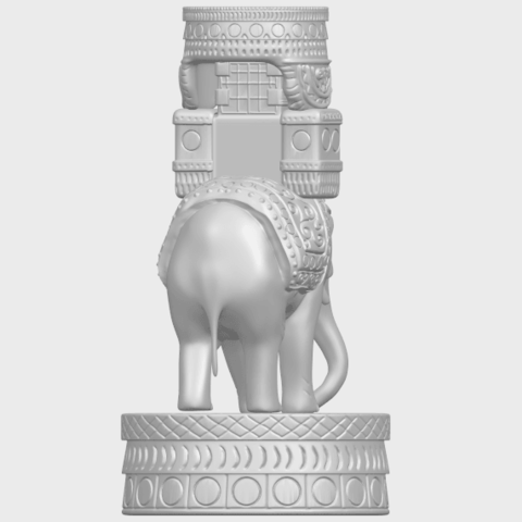 TDA0731_Elephant_08A07.png Download free STL file Elephant 08 • 3D printable template, GeorgesNikkei