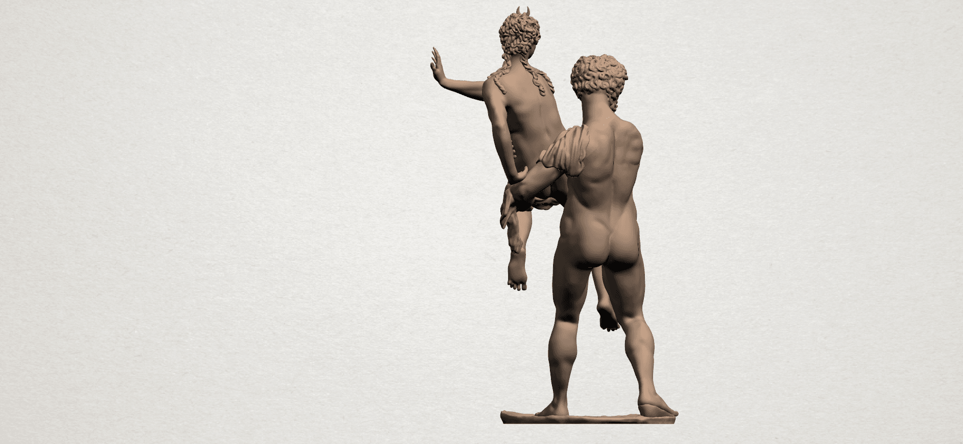 Naked Couple (iv) A04.png Download free STL file Naked Couple 04 • 3D printable model, GeorgesNikkei