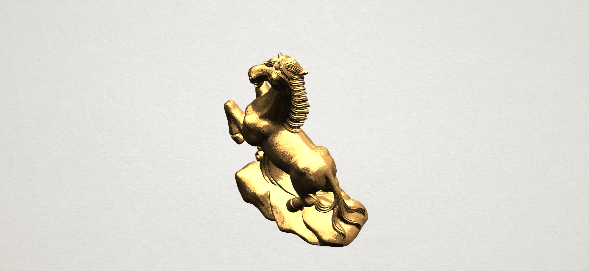 Chinese Horoscope07-01.png Download free STL file Chinese Horoscope 07 Horse • 3D printer model, GeorgesNikkei