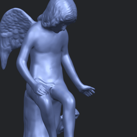 05_Angel_and_Dog_80mmA10.png Download free STL file Angel and Dog • 3D print model, GeorgesNikkei