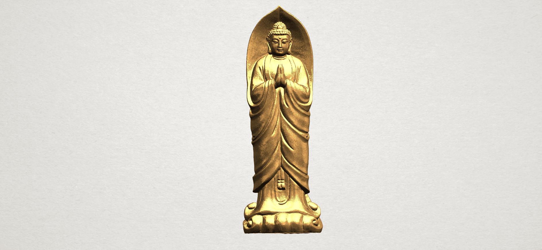 Gautama Buddha Standing (iv) A01.png Download free STL file Gautama Buddha Standing 04 • 3D printable design, GeorgesNikkei