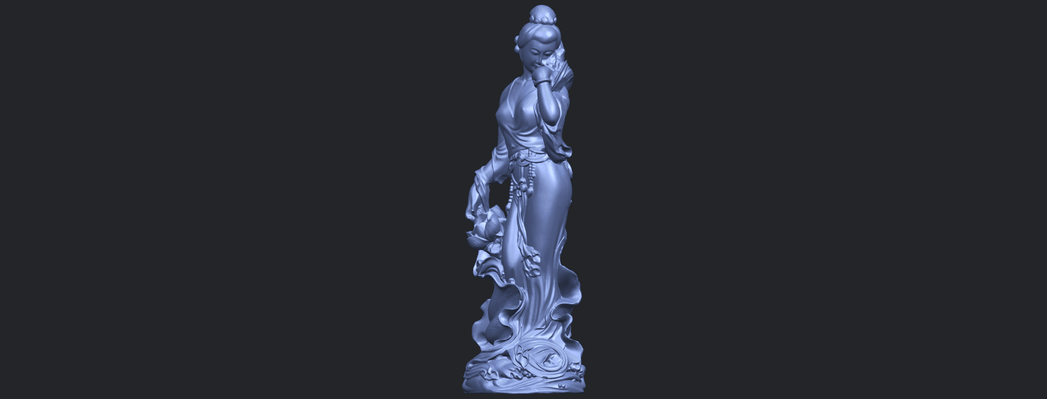 06_TDA0449_Fairy_04B02.png Download free STL file Fairy 04 • Object to 3D print, GeorgesNikkei