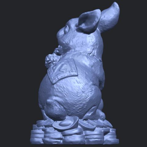 07_TDA0559_Rabbit_02B05.png Télécharger fichier STL gratuit Lapin 02 • Design imprimable en 3D, GeorgesNikkei