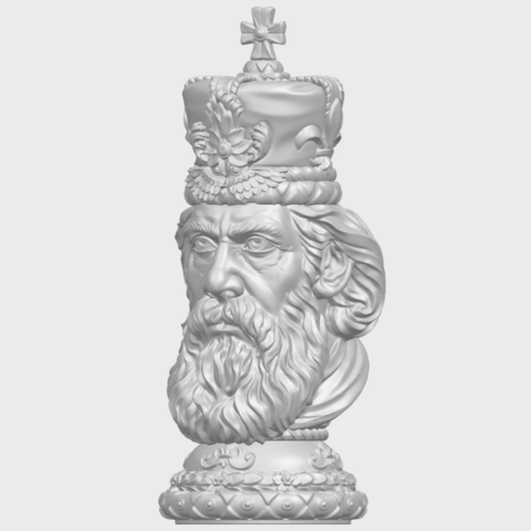 06_TDA0254_Chess-The_KingA02.png Télécharger fichier STL gratuit Chess-Le roi des échecs • Objet pour impression 3D, GeorgesNikkei