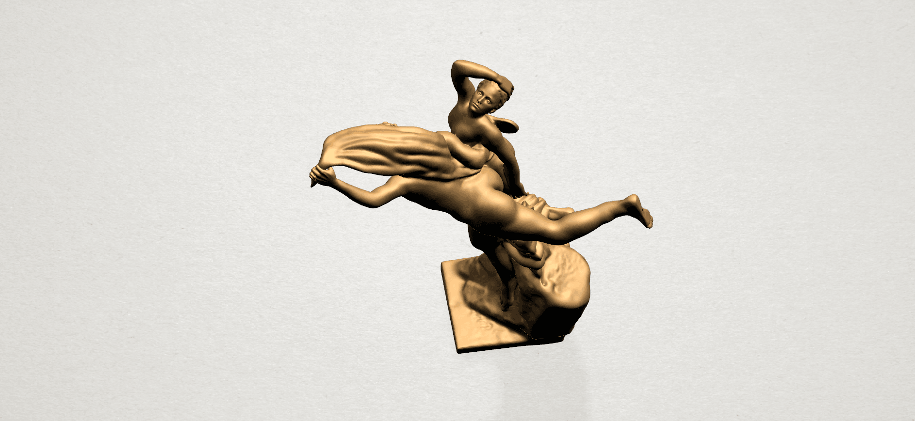 Cupid and Psyche - A13.png Download free STL file Cupid and Psyche • 3D printing template, GeorgesNikkei
