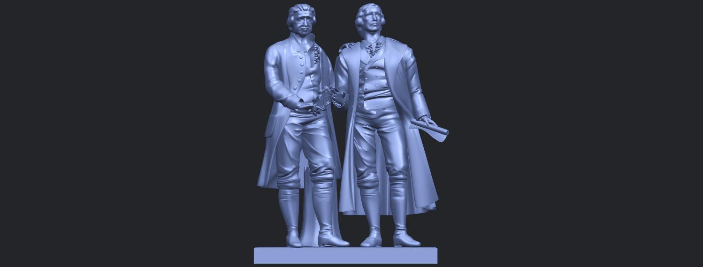 15_Goethe_schiller_80mmB01.png Télécharger fichier STL gratuit Goethe Schiller • Modèle imprimable en 3D, GeorgesNikkei