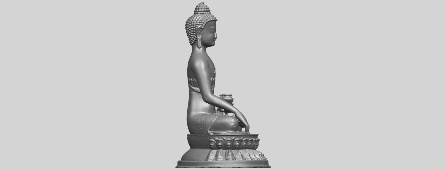 15_TDA0173_Thai_Buddha_(iii)_88mmA09.png Download free STL file Thai Buddha 03 • 3D printing object, GeorgesNikkei
