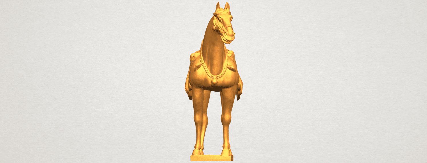 A09.png Download free STL file Horse 08 • Design to 3D print, GeorgesNikkei