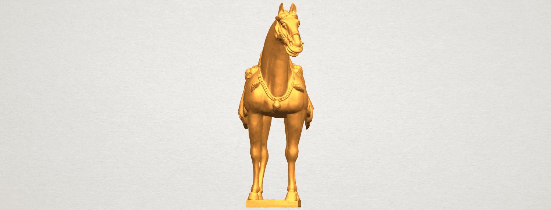 A09.png Télécharger fichier STL gratuit Cheval 08 • Plan à imprimer en 3D, GeorgesNikkei