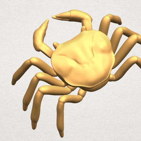 TDA0612 Crab A08.png Télécharger fichier STL gratuit Crabe • Objet pour imprimante 3D, GeorgesNikkei