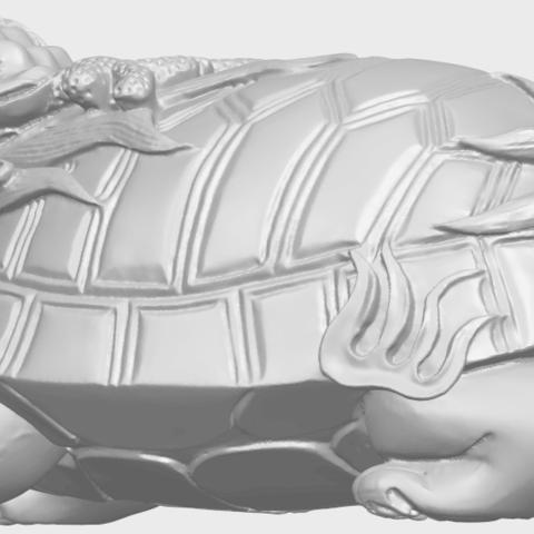 01_TDA0333_Dragon_TortoiseA02.png Télécharger fichier STL gratuit Tortue dragon • Objet imprimable en 3D, GeorgesNikkei