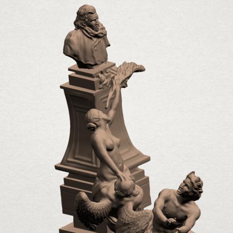 Statue 02 - B02.png Télécharger fichier STL gratuit Statue 02 • Plan pour impression 3D, GeorgesNikkei
