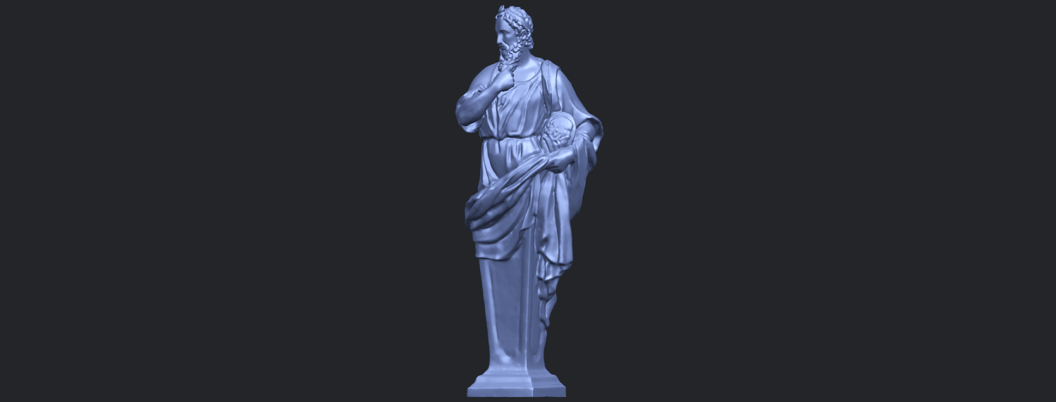 06_TDA0460_Plato_ex1900B02.png Download free STL file Plato • 3D printing template, GeorgesNikkei