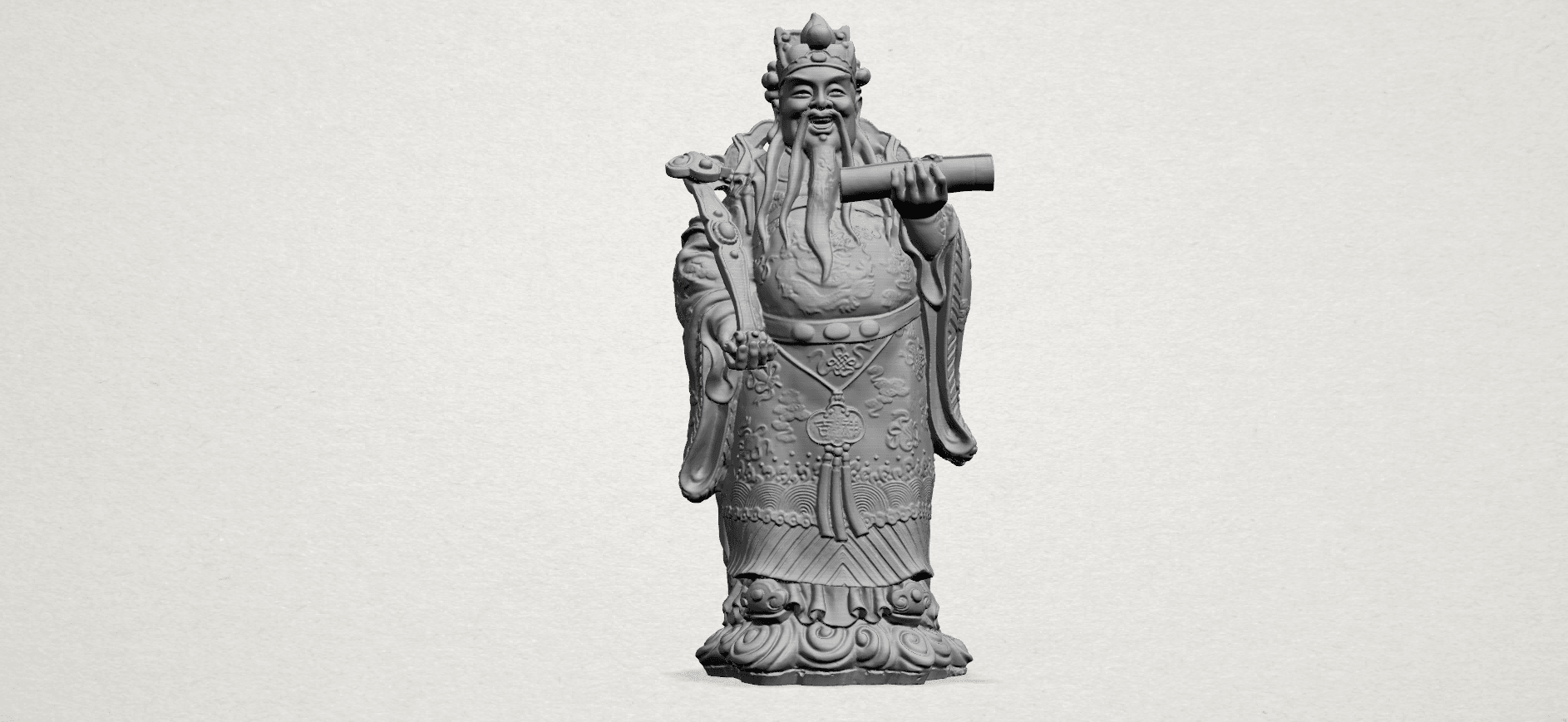 God of Treasure - A01.png Download free STL file God of Treasure • 3D printing model, GeorgesNikkei