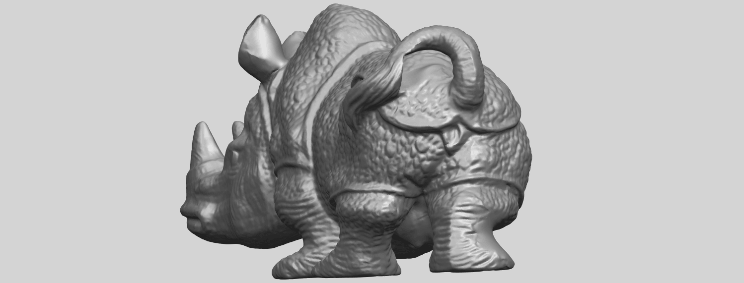 02_TDA0312_Rhinoceros_iv_FemaleA03.png Download free STL file  Rhinoceros 05 Female • 3D print object, GeorgesNikkei