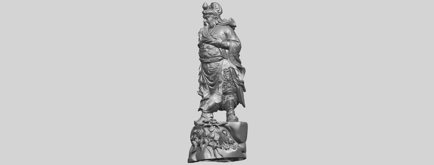 06_TDA0241_Guan_Gong_iiA03.png Download free STL file Guan Gong 02 • 3D printing template, GeorgesNikkei