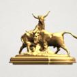 Bull (iii) A02.png Télécharger fichier STL gratuit Taureau 03 • Plan imprimable en 3D, GeorgesNikkei