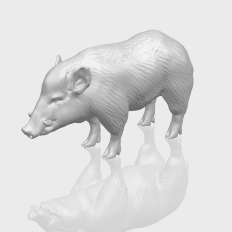 13_TDA0320_Pig_ii_A00-1.png Download free STL file Pig 02 • 3D printable object, GeorgesNikkei