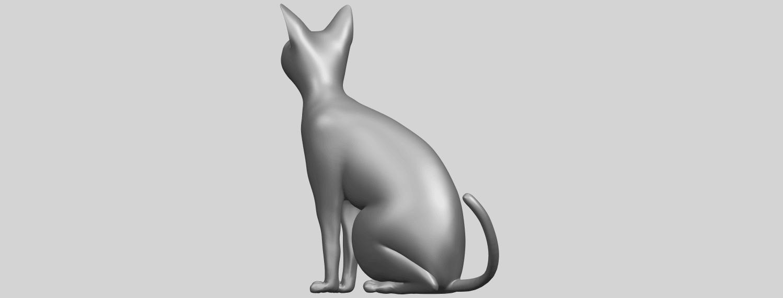 02_TDA0576_Cat_01A05.png Télécharger fichier STL gratuit Chat 01 • Modèle pour imprimante 3D, GeorgesNikkei