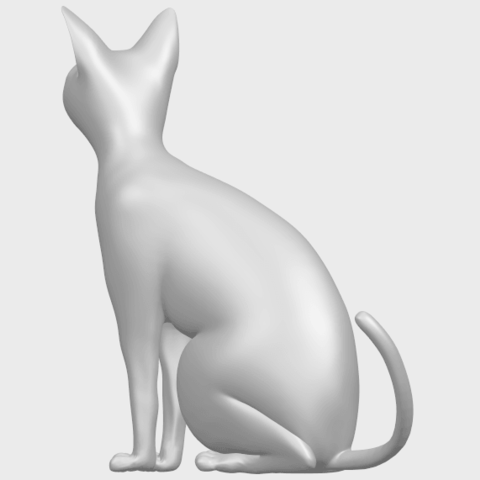 02_TDA0576_Cat_01A05.png Download free STL file Cat 01 • Design to 3D print, GeorgesNikkei
