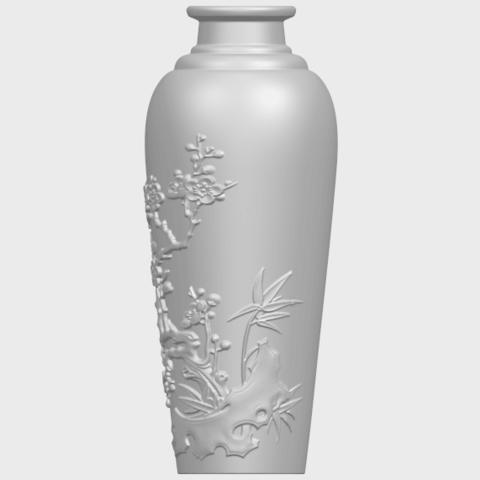 18_TDA0498_Vase_01A04.png Télécharger fichier STL gratuit Vase 01 • Modèle pour impression 3D, GeorgesNikkei
