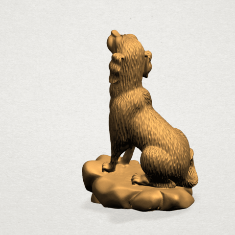 ZChinese Horoscope11-A02.png Download free STL file Chinese Horoscope 11 Dog • 3D print design, GeorgesNikkei