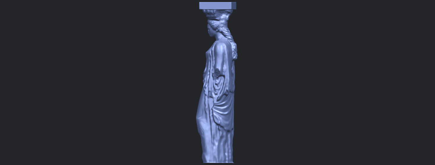 19_Pose_with_Girl_80mmB04.png Download free STL file Pose with Girl • 3D printable template, GeorgesNikkei