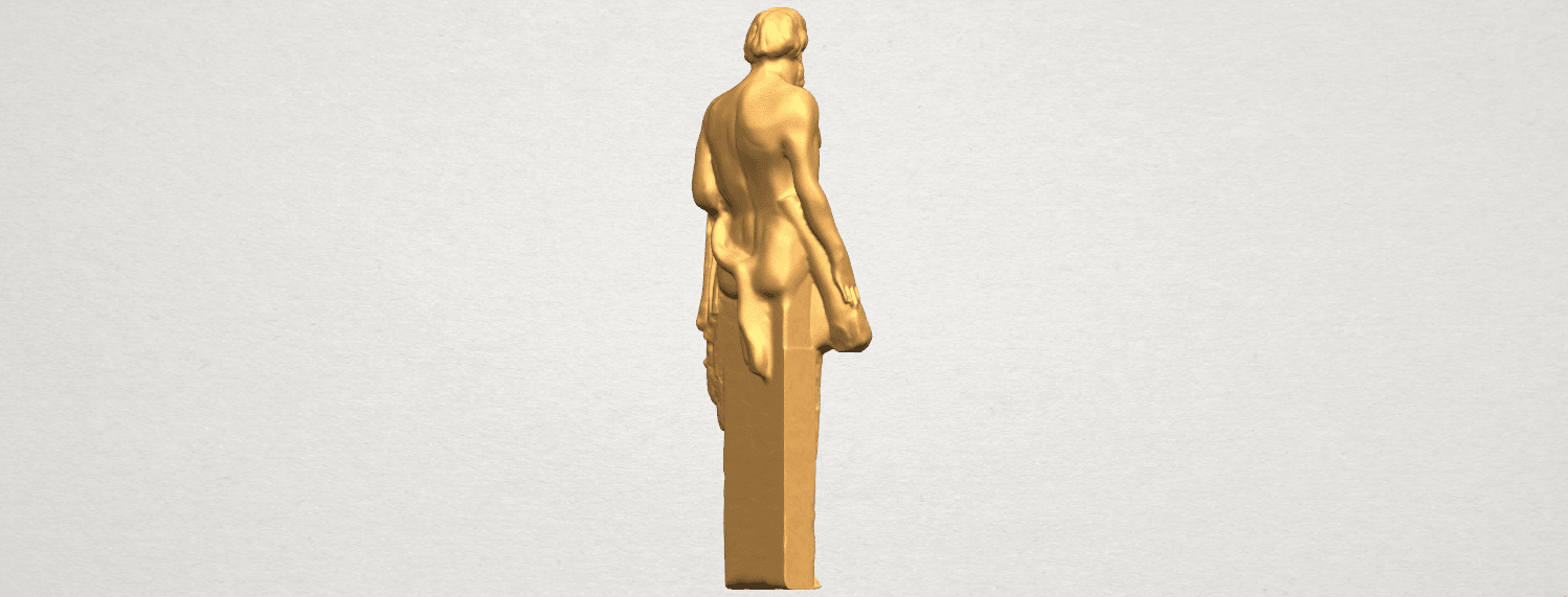 TDA0466 Sculpture of a man 02 A05.png Download free STL file Sculpture of a man 03 • 3D print model, GeorgesNikkei