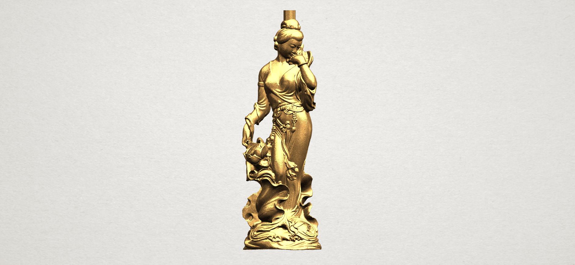 Asian Girl 03 A01.png Télécharger fichier STL gratuit Fille asiatique 03 • Design pour imprimante 3D, GeorgesNikkei