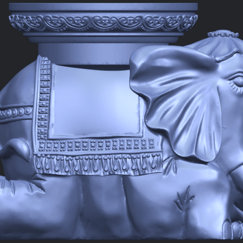 11_TDA0501_Elephant_TableB08.png Download free STL file Elephant Table • 3D printing object, GeorgesNikkei