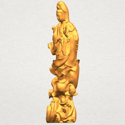 TDA0298 Avalokitesvara Bodhisattva - Standing (vi) A03.png Télécharger fichier STL gratuit Avalokitesvara Bodhisattva - Debout 06 • Objet pour impression 3D, GeorgesNikkei