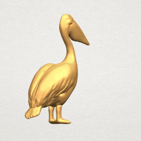 TDA0596 Pelican A04.png Download free STL file Pelican • 3D print model, GeorgesNikkei