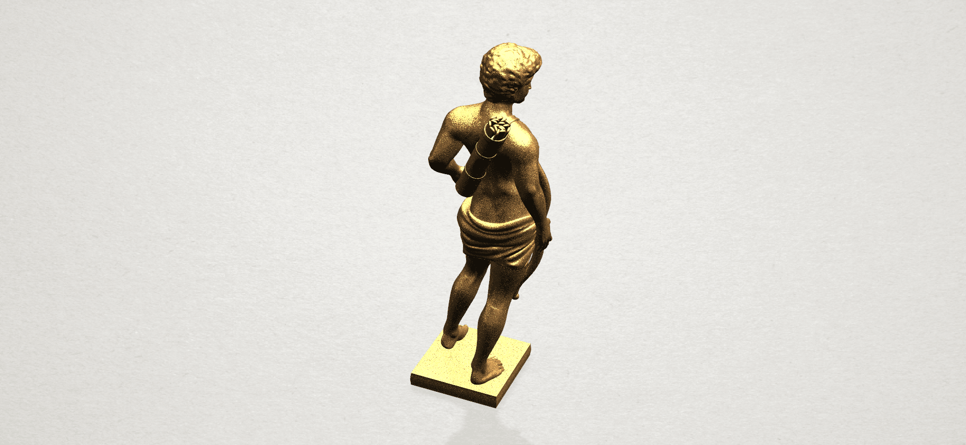 Michelangelo (ii) - A05.png Download free STL file Michelangelo 02 • Template to 3D print, GeorgesNikkei