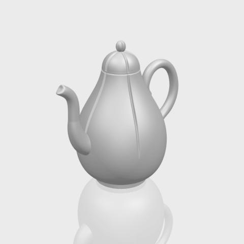 19_TDA0323_Tea_Pot_iiA00-1.png Download free STL file Tea Pot 02 • 3D printer template, GeorgesNikkei