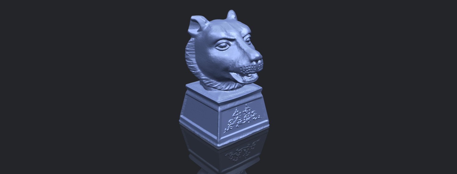 20_TDA0510_Chinese_Horoscope_of_Tiger_02B00-1.png Download free STL file Chinese Horoscope of Tiger 02 • 3D print object, GeorgesNikkei