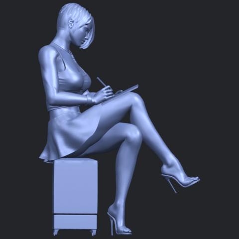 19_TDA0471_Beautiful_Girl_05_B09.png Download free STL file Beautiful Girl 05 • 3D printing template, GeorgesNikkei