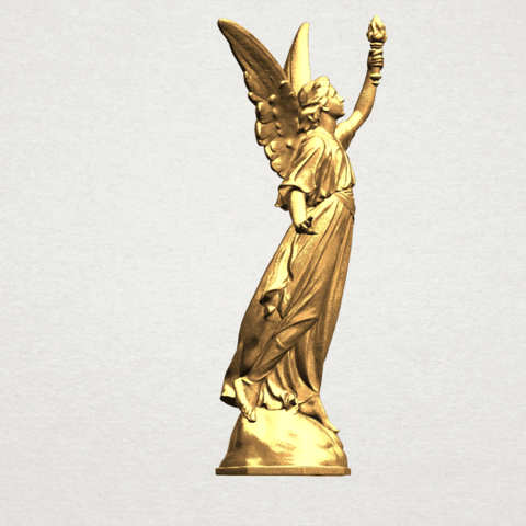 Statue 01 - A06.png Download free STL file Statue 01 • Object to 3D print, GeorgesNikkei