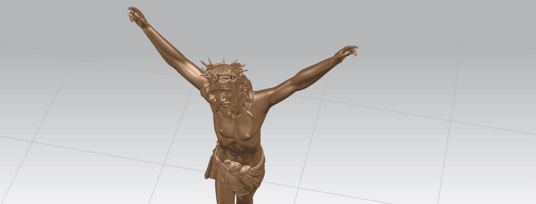 TDA0230 Jesus (ii) A07.png Download free STL file Jesus 02 • 3D printing template, GeorgesNikkei