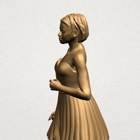 Standing girl- B03.png Download free STL file Standing girl • 3D printer design, GeorgesNikkei