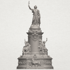 Download free 3D printer templates Place de la Republique, GeorgesNikkei