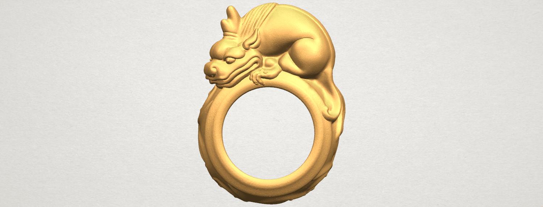 TDA0504 Pi Xiu Ring A01 ex980.png Télécharger fichier STL gratuit Bague Pi Xiu Ring • Modèle à imprimer en 3D, GeorgesNikkei