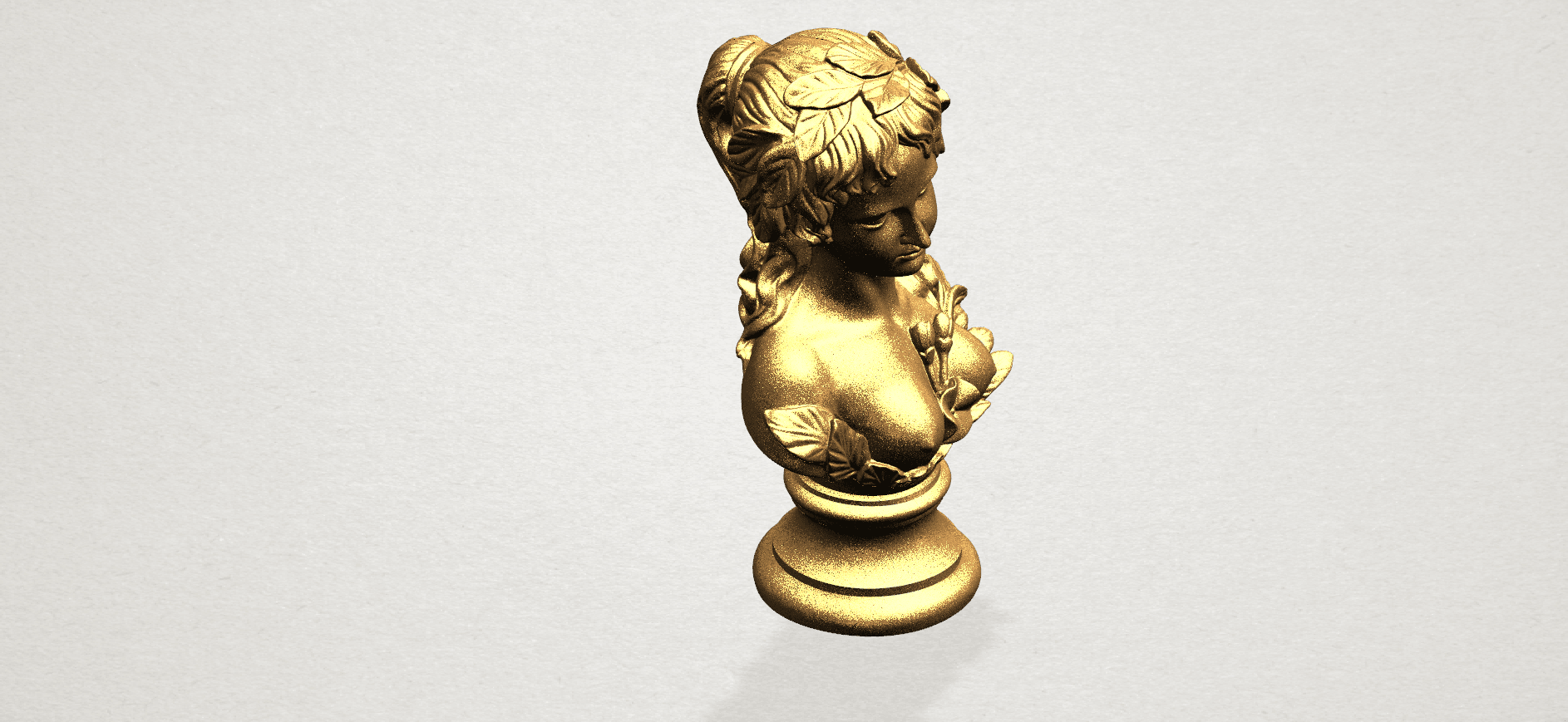 Bust of Venus 80mm - A08.png Download free STL file Bust of Venus • 3D print model, GeorgesNikkei