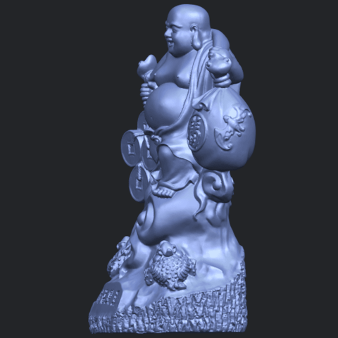 09_TDA0329_Metteyya_Buddha_09B03.png Télécharger fichier STL gratuit Bouddha Metteyya 09 • Modèle imprimable en 3D, GeorgesNikkei