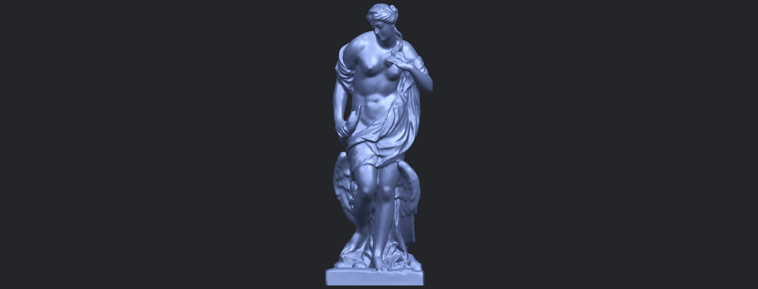 25_TDA0173_Naked_Girl_with_Goose_88mmB01.png Download free STL file Naked Girl with Goose • 3D print template, GeorgesNikkei