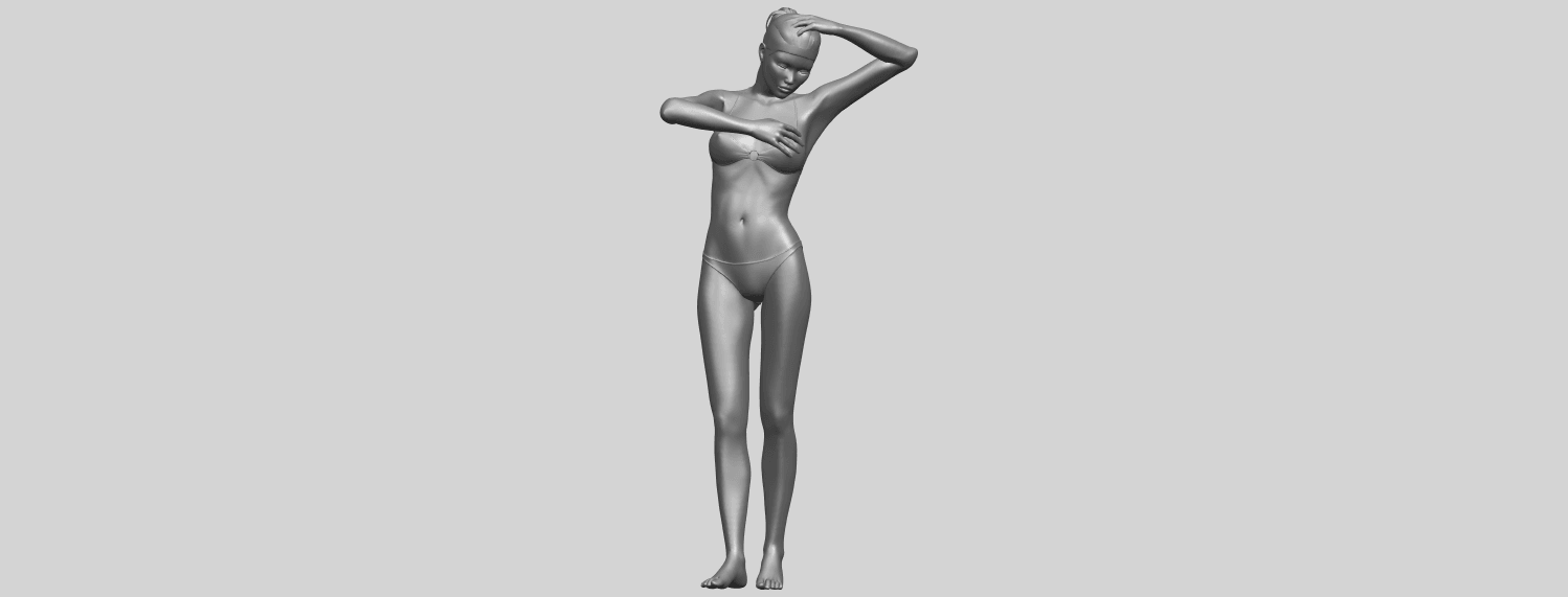 16_TDA0633_Naked_Girl_D03-A02.png Download free STL file Naked Girl D03 • 3D printing template, GeorgesNikkei