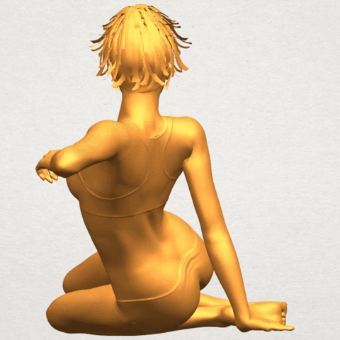 A06.png Download free STL file Naked Girl F03 • Template to 3D print, GeorgesNikkei