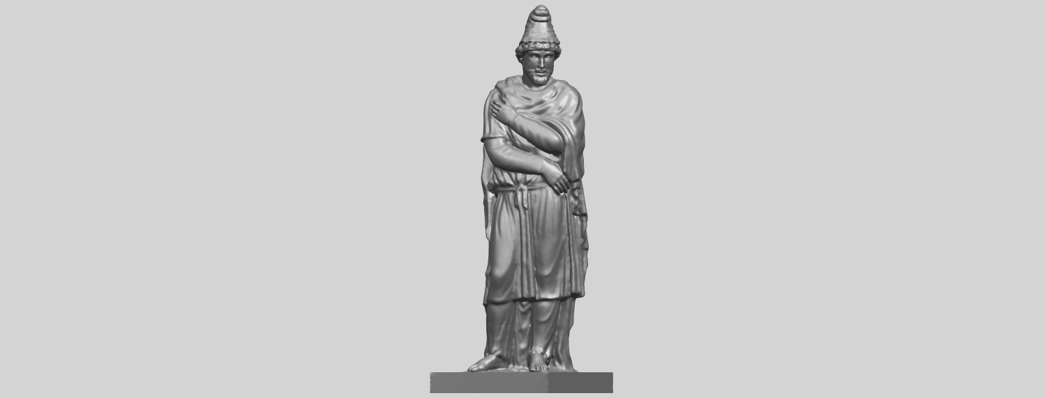 17_TDA0266_Tiridates_I_of_ArmeniaA02.png Download free STL file Tiridates I of Armenia • 3D print model, GeorgesNikkei
