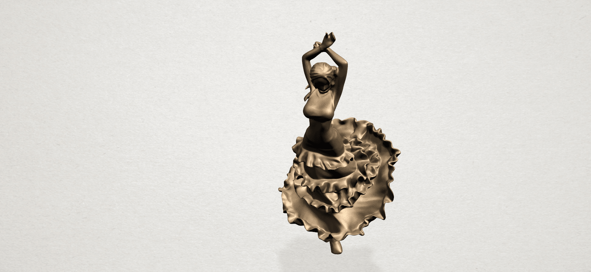 Girl with Dress A07.png Download free STL file Girl with Dress • Object to 3D print, GeorgesNikkei